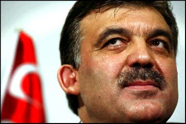 Turkish President, Abdullah Gul.